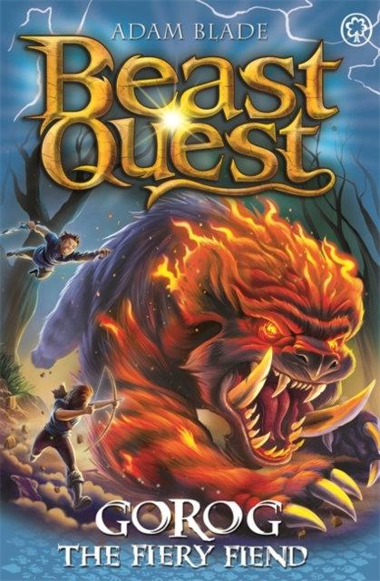 Beast Quest: Gorog the Fiery Fiend : Series 27 Book 1