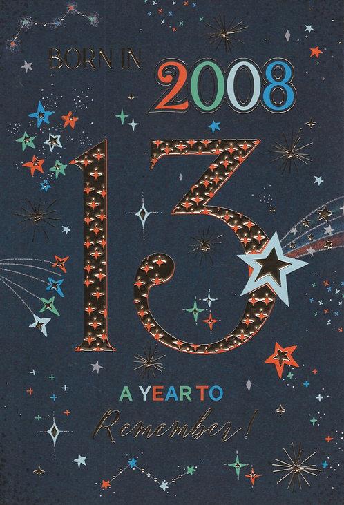 Born In 2008 Age 13
