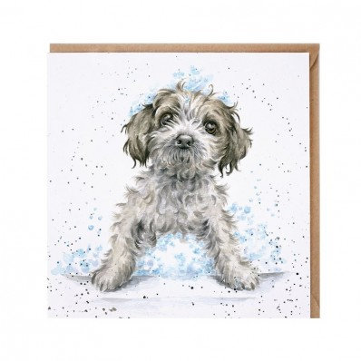 Bubbles and Barks' card