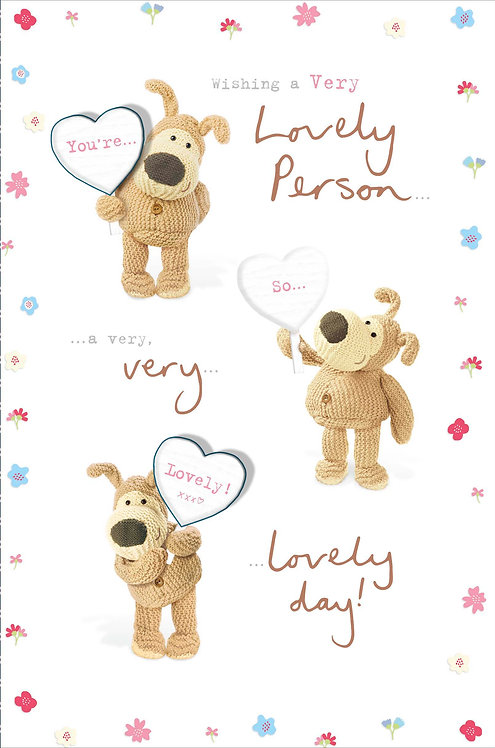 Boofle Lovely Person