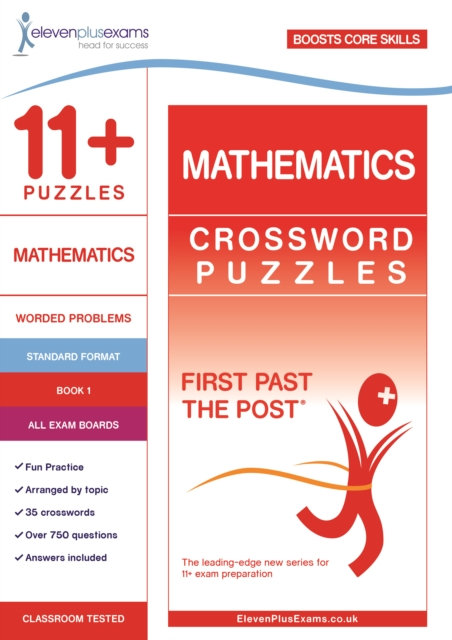 11+ Puzzles Mathematics Crossword Puzzles Book 1