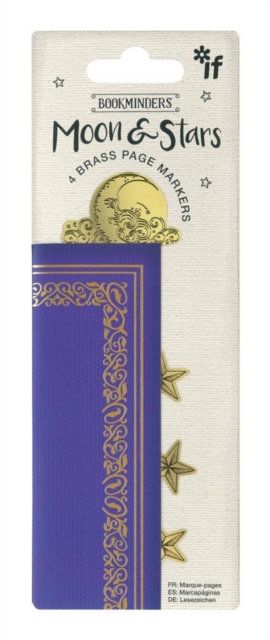 Bookminders Page Markers - Moon & Stars
