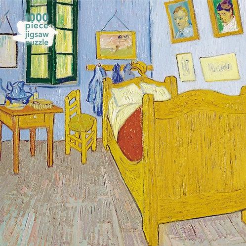 Adult Jigsaw Puzzle Vincent van Gogh: Bedroom at Arles : 1000-piece Jigsaw Pu...