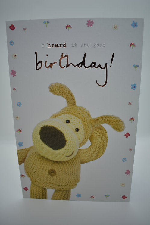 Boofle Birthday