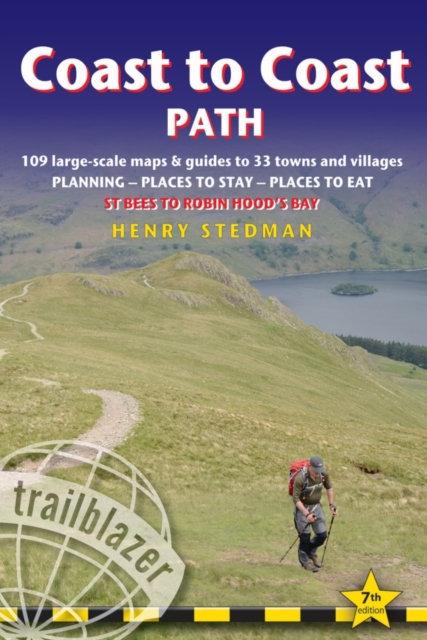 Coast to Coast Path : 109 Large-Scale Walking Maps & Guides