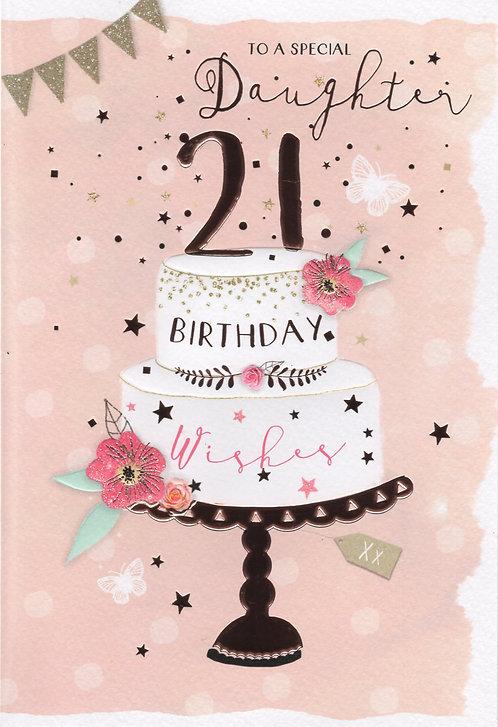 Daughter 21st Birthday