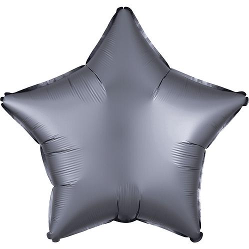 "19"" star shaped balloon."
