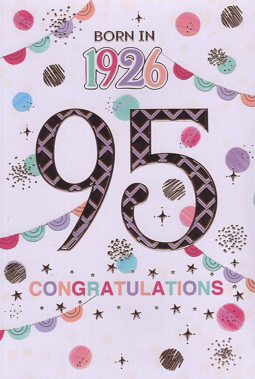 Born In 1926 Age 95