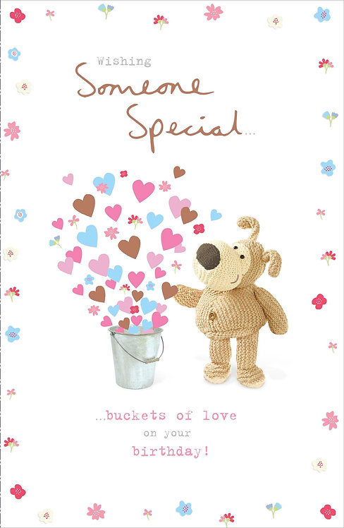 Boofle Happy Birthday Someone Special