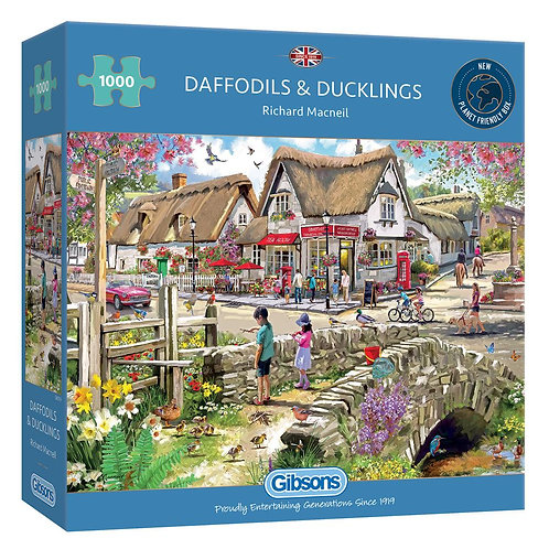 DAFFODILS & DUCKLINGS 1000PC