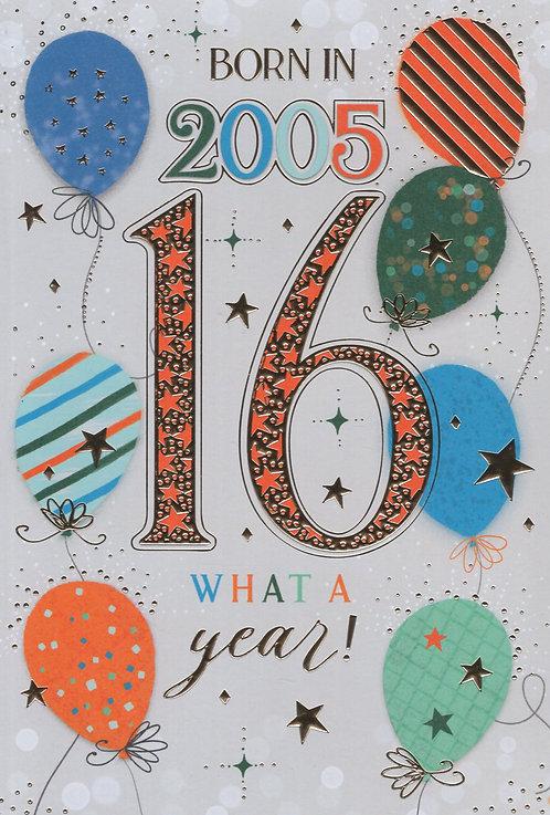 Born In 2005 Age 16