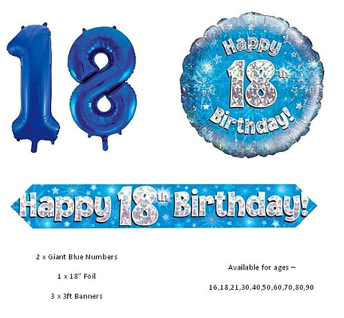 Blue Balloon Package