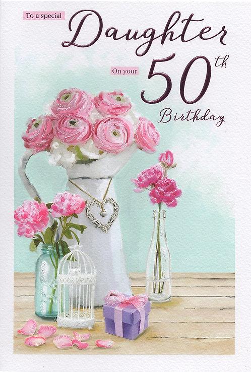 Daughter 50th Birthday
