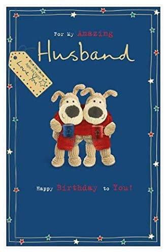 Boofle Husband Birthday Card