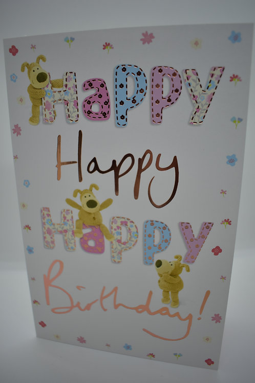 Boofle Happy Birthday