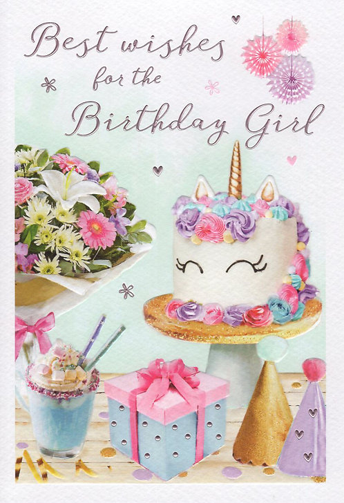 Best Wishes for the Birthday Girl