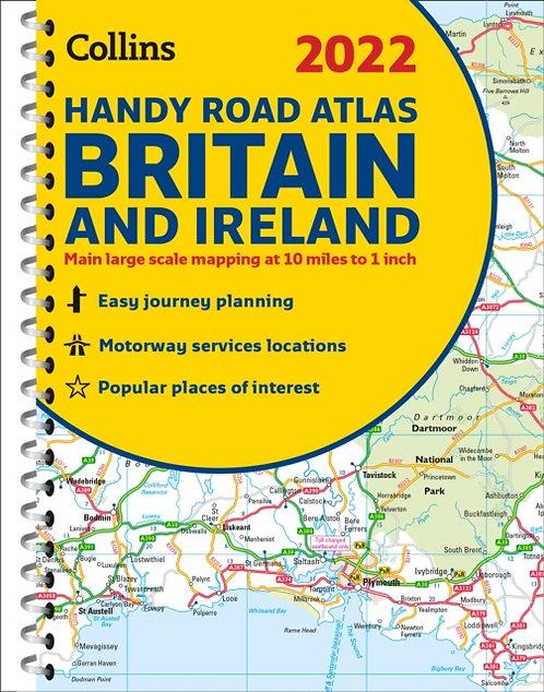 2022 Collins Handy Road Atlas Britain : A5 Spiral