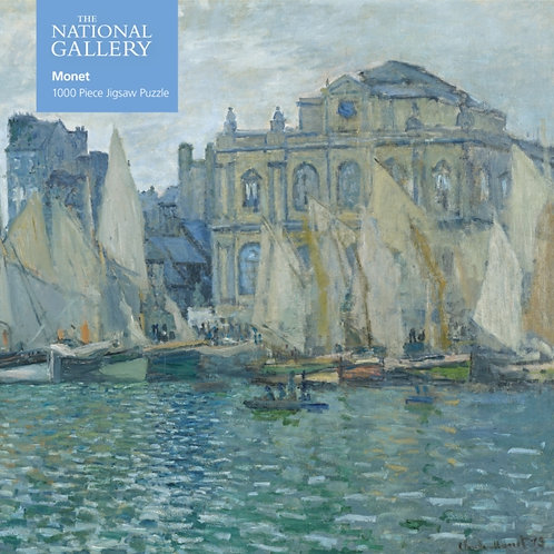 Adult Jigsaw National Gallery: Monet The Museum at Le Havre : 1000 piece jigsaw
