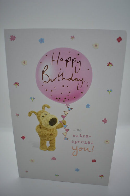 Boofle Happy Birthday to Extra Special You