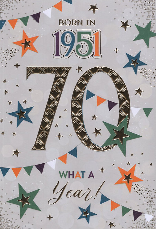 Born In 1951 Age 70