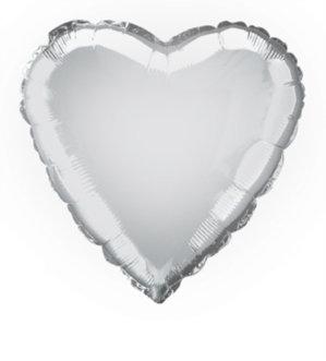 "18""  Heart Shaped foil balloon"