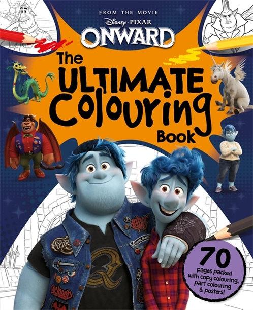 Disney Pixar Onward: The Ultimate Colouring Book