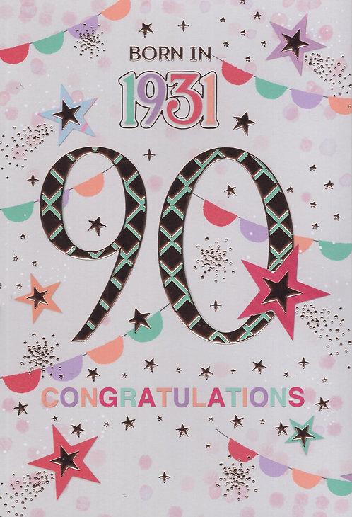 Born In 1931 Age 90