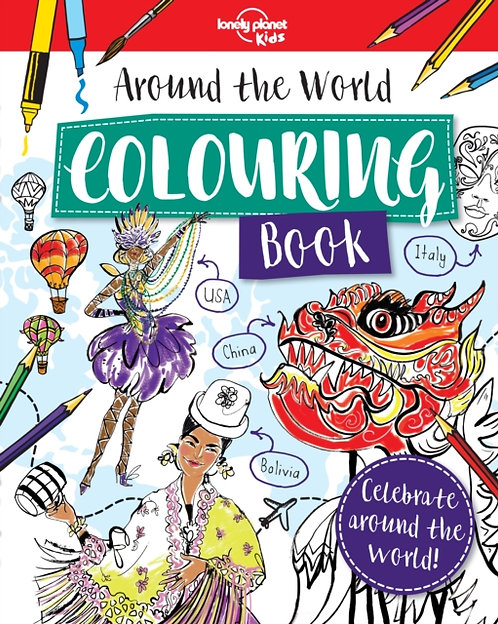 Around the World Colouring Book