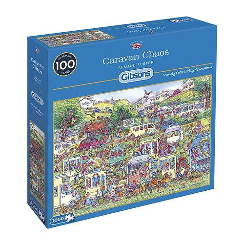 CARAVAN CHAOS 1000PC PUZZLE