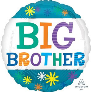 "Big Brother 18"" Foil Balloon"