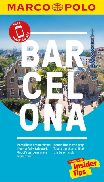 Barcelona Marco Polo Pocket Travel Guide  - with pull out map