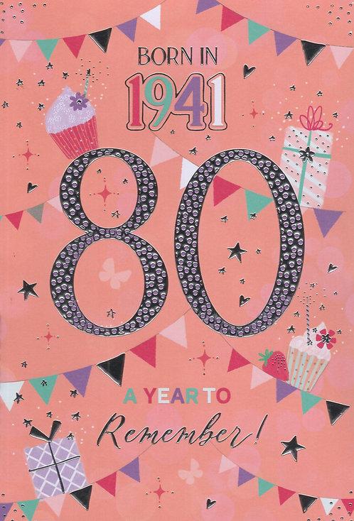 Born In 1941 Age 80