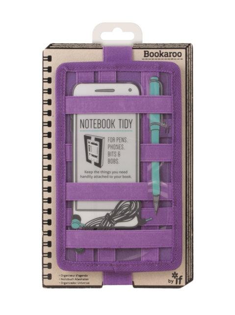 Bookaroo Notebook Tidy - Purple