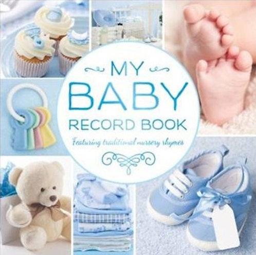 Baby Record Book rework (blue)