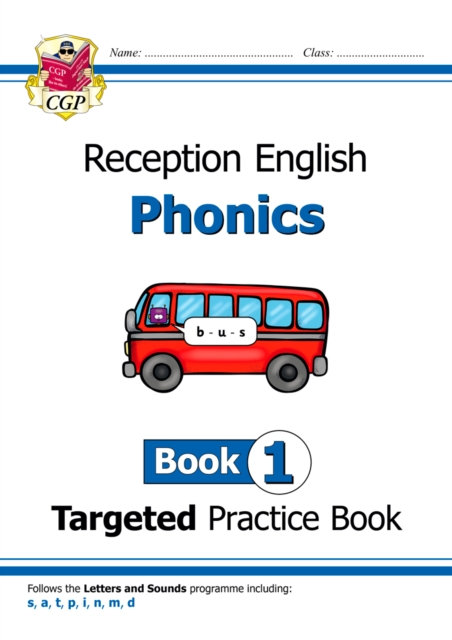 English Targeted Practice Book: Phonics - Reception Book 1