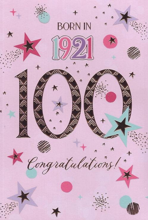 Born In 1921 Age 100