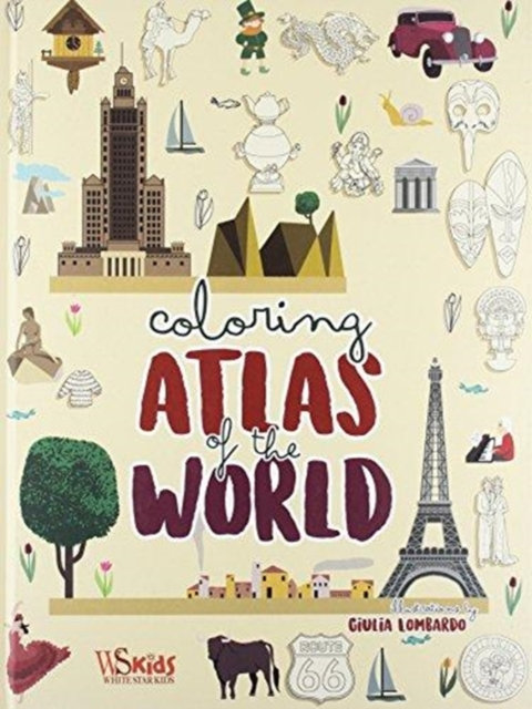 Colouring: Atlas of the World