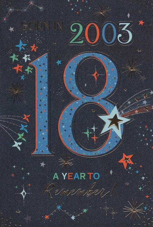 Born In 2003 Age 18
