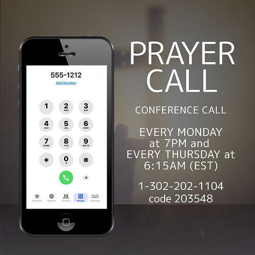 Copy of Prayer Call - Made with PosterMy