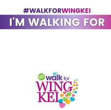 I'M WALKING FOR