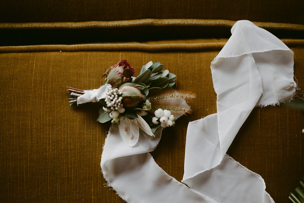 Fall country wedding at The Grist Mill in Prince Edward County, Ontario. Photo by BKH Photo