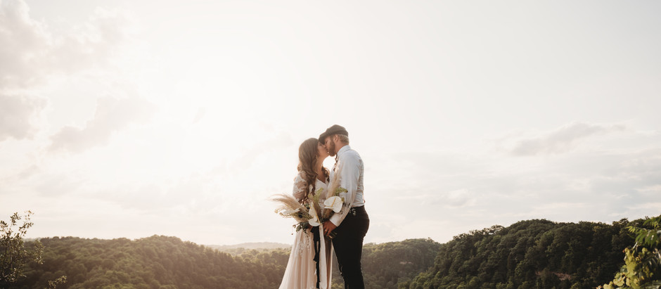 Dundas Peak Elopement Inspiration in Hamilton, Ontario