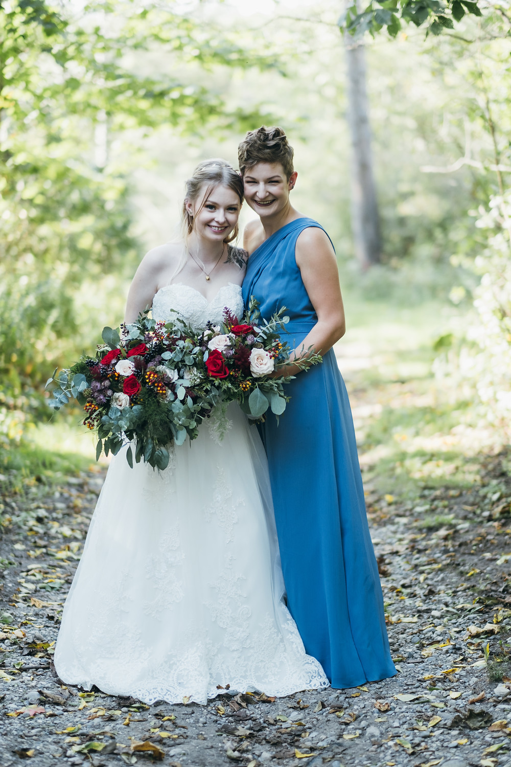 Whimsical summer wedding at the Caso Station in St Thomas, Ontario. Photo by Chance Faulkner Photography.