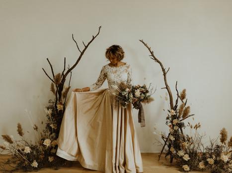 Industrial Wade Studio Styled Wedding Shoot in Toronto, Ontario