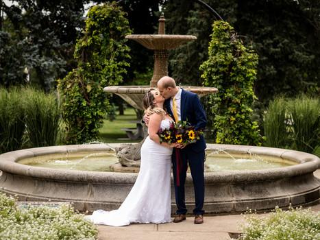 Summer Jewel-Toned Wedding in Kitchener, Ontario.