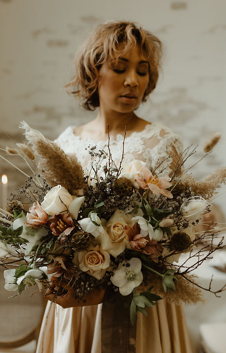 Earth styled wedding at The Wade Studio