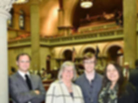 With Assemblywoman Lifton, Margaret, and