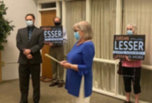 Barbara Lifton endorses Jordan Lesser for Assembly