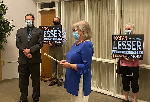 Barbara Lifton endorses Jordan Lesser for Assembly