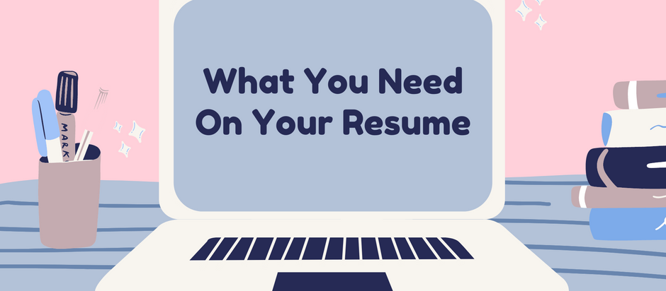 What You Need on Your Resume